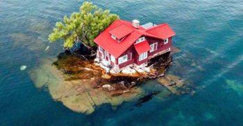 Insula Spațiu la Fix: Cea mai mică insulă locuită din lume