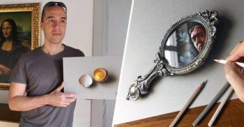 Marcello Barenghi omul care fotografiază obiecte cu creionul