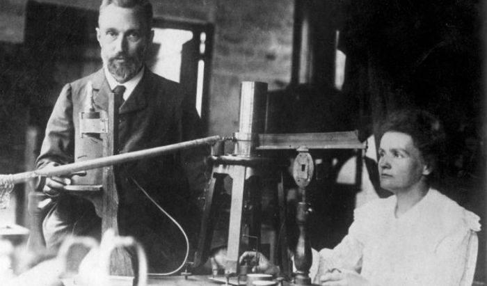 Marie si Pierre Curie