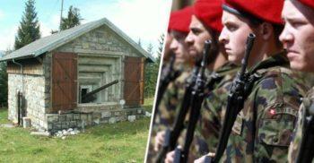 Nicio casă fără buncăr Elveția țara neutră înarmată până în dinți