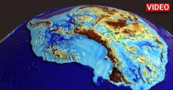 O hartă de înaltă precizie ne dezvăluie cum arată Antarctica sub învelișul de gheață