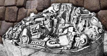 Piatra Sayhuite: Misterul monolitului incaș ce seamănă cu o hartă tridimensională