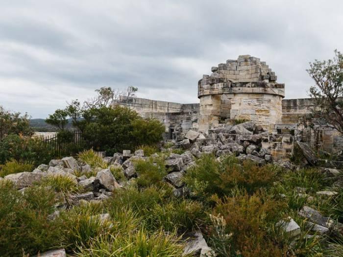 Ruine farul Cape St George