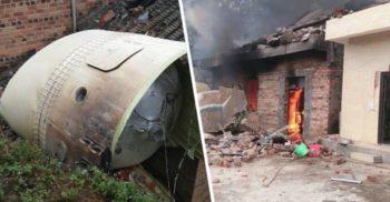 """Un propulsor de rachetă a căzut """"din cer"""" peste o casă din China, distrugând-o"""