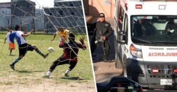 Într-o închisoare din Mexic, un meci de fotbal dintre două carteluri de droguri s-a sfârșit cu 16 morți