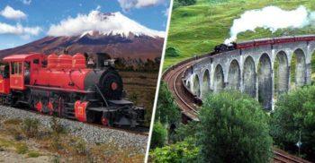 12 dintre cele mai frumoase drumuri cu trenul