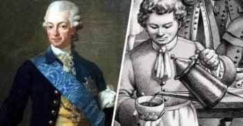 Bizarul experiment cu cafea și ceai al regelui Gustav al III-lea al Suediei