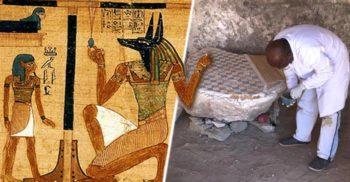 O hartă egipteană a lumii de dincolo, prima carte ilustrată din lume