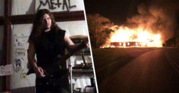 A ars trei biserici ca să-și creeze reputația de muzician black metal