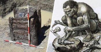 """A fost descoperită cea mai """"bătrână"""" structură din lemn, o fântână de 7.300 de ani"""