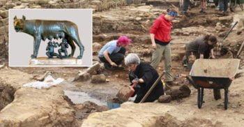 A fost descoperit mormântul lui Romulus, fondatorul Romei?