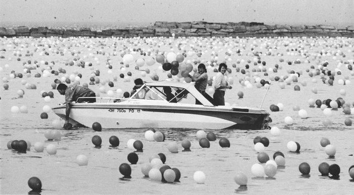Baloane lacul Eirie