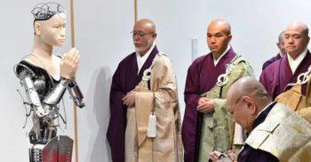 Preacuviosul android: Un templu budist din Japonia are un preot robot