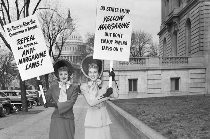 Protest legi anti margarina