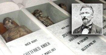 """""""Vampirul din Galipan"""", chirurgul german care a insistat să fie mumificat"""