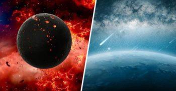 A fost descoperită planeta pe care plouă cu fier lichid