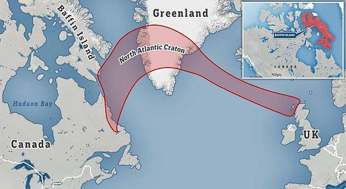 Cratonul Atlanticului de Nord