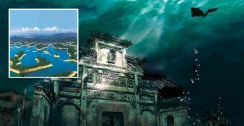 Minunatele orașe străvechi de pe fundul Lacului cu 1.000 de Insule