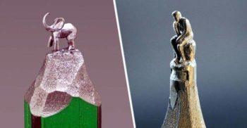 Monumentele răbdării: Sculpturile în vârf de creion ale lui Jasenko Dordevic