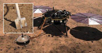 NASA a reparat un robot de pe Marte comandându-i să se lovească singur cu lopata