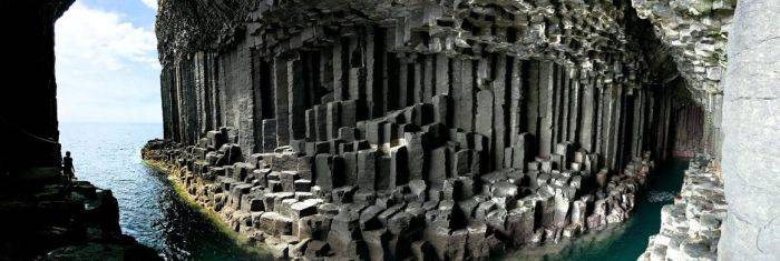 Panorama Pestera lui Fingal
