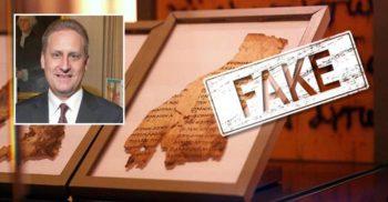 """Toate """"manuscrisele de la Marea Moartă"""" expuse la Muzeul Bibliei sunt falsuri"""