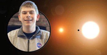 Un tânăr de 17 ani descoperit o nouă planetă după doar 3 zile de stagiu la NASA