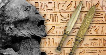 """""""Mumia care țipă"""", criminalul care s-a sinucis în urmă cu 3 milenii"""
