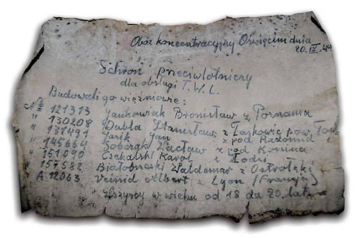 Bilet Auschwitz