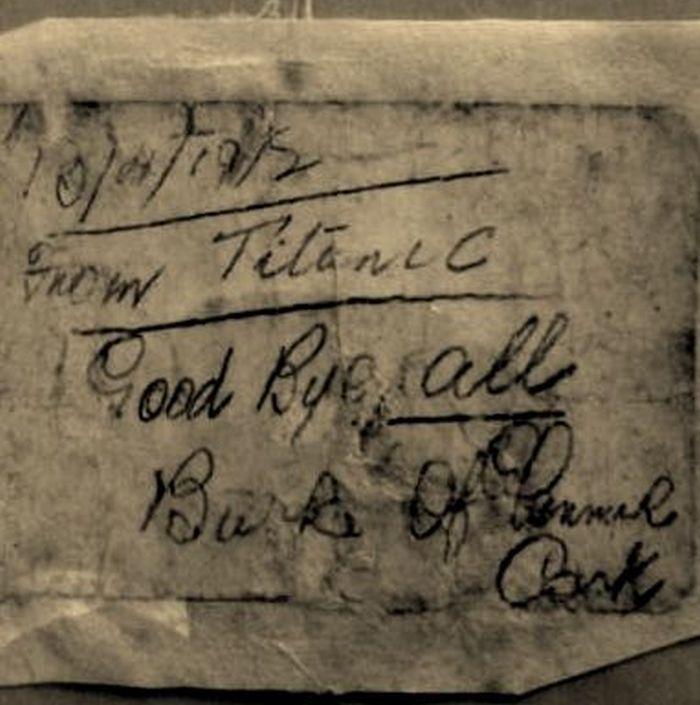 Mesaj Titanic