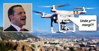 Un primar italian folosește dronele ca să-i înjure pe cei ce ies din izolare