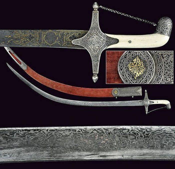 Săbiile din oțel de Damasc