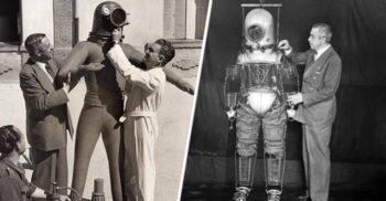 """Creatorul de """"modă"""" al astronauților: Emilio Herrera, inventatorul costumului spațial"""