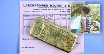 Doi copii au descoperit 2 kg. de aur în casa bunicii lor în timpul carantinei