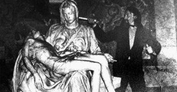 5 opere de artă celebre care au fost ținta vandalismului