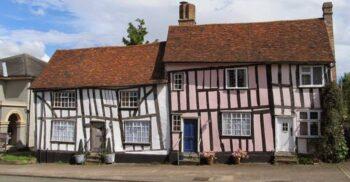 Lavenham, orășelul englezesc unde casele sunt strâmbe