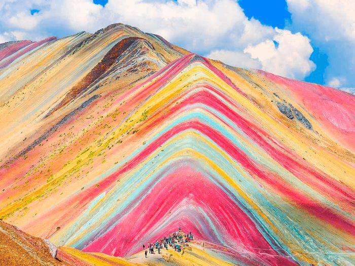 Vinicunca, numit și Muntele cu Șapte Culori sau Muntele-Curcubeu