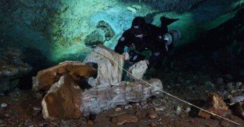 Comoara scufundată: Mina de ocru de 12.000 de ani descoperită întâmplător