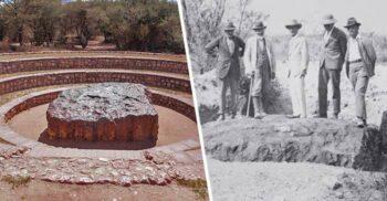 Hoba, cel mai mare meteorit descoperit până acum pe Terra
