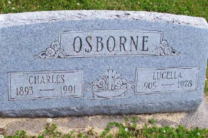 Mormantul lui Charles Osborne