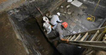 Ruinele unui palat aztec distrus de conchistadori, descoperite în capitala Mexicului