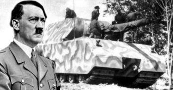"""""""Șoarecele"""" de 180 de tone al lui Hitler: Cel mai greu tanc creat vreodată"""