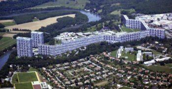 Clădirea de 1 kilometru din Le Lignon, cel mai lung bloc de apartamente din Elveția