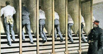 Moara penală – Deținuții pedepsiți să umble ca șoarecii pe roată