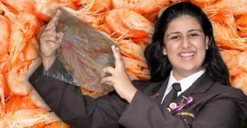 O elevă de 17 ani a inventat plasticul din resturi de creveți, care se descompune în 33 de zile
