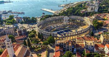 Arena din Pula, cel mai bine conservat amfiteatru roman din lume