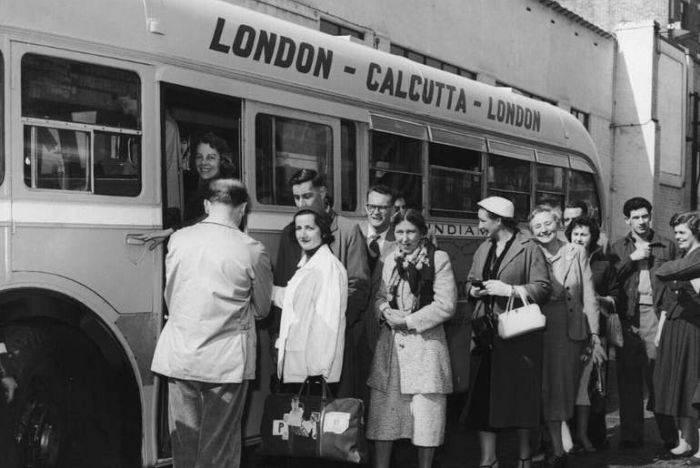 Londra Calcutta autocar