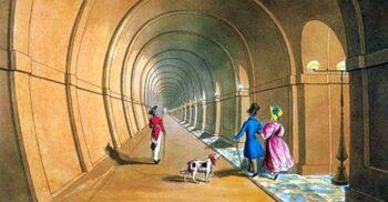 Tunelul Tamisei, primul tunel săpat vreodată pe sub un fluviu