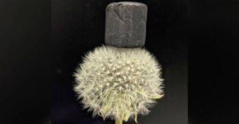 """""""Fumul înghețat"""": Aerogelul de grafen, cel mai ușor material din lume"""