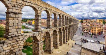 Apeductul din Segovia: Ridicat fără mortar, acest colos rezistă de 2.000 de ani